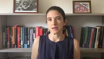Profesora Umut Aydin presenta investigación sobre las actitudes de los chilenos frente a la colusión