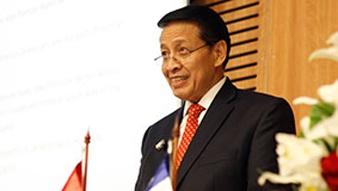 Ex ministro de Indonesia ofreció conferencia en nuestro Instituto
