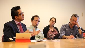 """Núcleo Milenio organizó taller """"Convergencia Catastrófica: Pobreza, Clima y Conflicto Social en los Andes"""""""