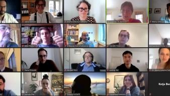 """Más de 20 expositoras/es se dan cita en ICP-UC en taller """"Actores Internacionales y la impugnación de la Democracia Liberal"""""""
