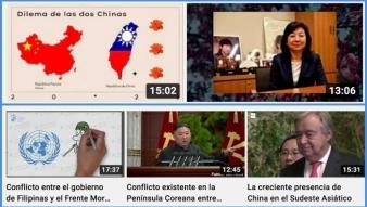 """Estudiantes de pregrado del curso """"Relaciones Internacionales del Asia Pacífico"""" se introducen en el mundo audiovisual para presentar su evaluación final"""