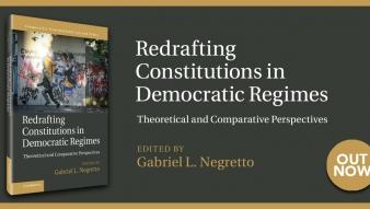 """Libro destacado: """"Redrafting Constitutions in Democratic Regimes"""", profesor Gabriel Negretto"""
