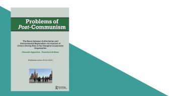 """Nuevo artículo de los profesores Giovanni Agostinis y Francisco Urdinez en Journal """"Problems of Post-Communism"""""""