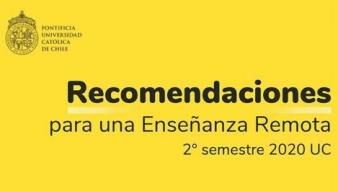 VRA desarrolla manual con recomendaciones para la enseñanza remota