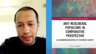 Enrico Padoan, graduado de nuestro doctorado, publica libro sobre Populismos antineoliberales