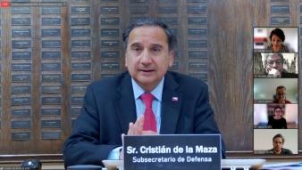 Subsecretario de Defensa, Cristián de la Maza, presenta la nueva Política de Defensa de Chile ante académicos, académicas y estudiantes de nuestro Instituto