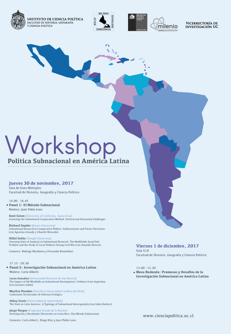afiche workshop milenio 30nov 2017