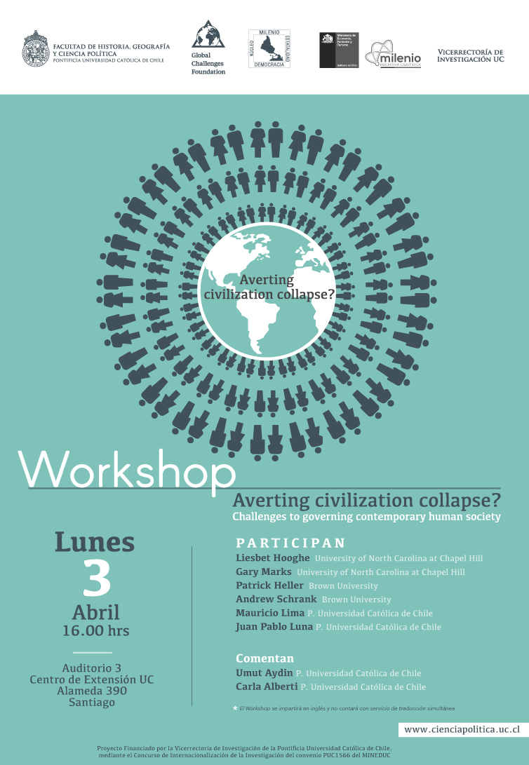 afiche workshop milenio 3 abril 2017