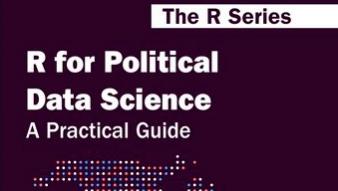 """Profesor Francisco Urdinez y el estudiante de postgrado Andrés Cruz, lideran publicación sobre """"R"""" para datos políticos"""