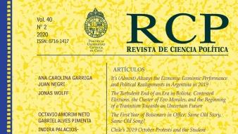 Revista de Ciencia Política publica el Anuario de América Latina 2019