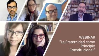 """Disponible online Webinar """"La Fraternidad como Principio Constitucional"""""""