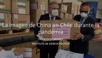 Nuestro programa de Magíster realizó charla que abordó la imagen de China en tiempos del Covid-19